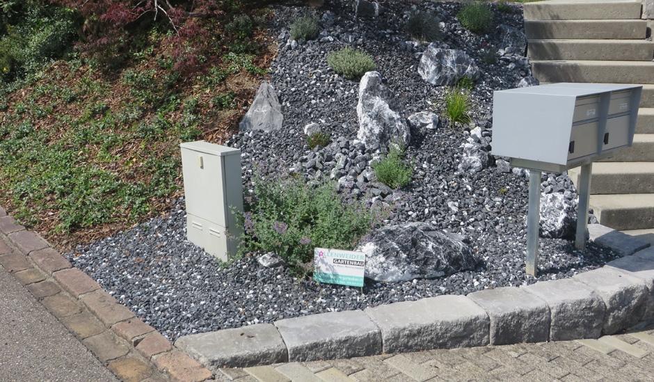 Vollenweider steingarten - Steingarten anlegen aufbau ...